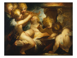 Putti Sharpening their Arrows