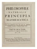Philosophiae Naturalis Principia Mathematica