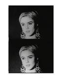 Screen Test: Edie Sedgwick, c.1965 Reproduction d'art par Andy Warhol