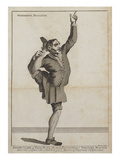 Joseph Clark of Pall Mall  the Most Extraordinary Posture Master  from 'A Collection of Unframed…