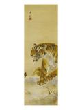 Roaring Tiger Giclée par Gao Qifeng
