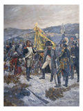 Napoleon Conferring the Legion D&#39;Honneur on a Russian General  1804