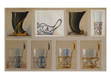 A Selection of Designs from the House of Faberge Including a Jug and Tea-Glass Holders