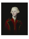 Portrait of George Augustus  3rd Viscount Howe  Half-Length  Wearing the Uniform of the 1st Guard