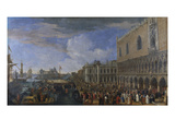 The Arrival of the French Ambassador at the Doge&#39;s Palace  Venice; Entree De L&#39;Ambassadeur De