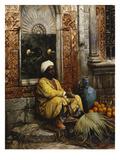 The Orange Seller Giclée par Ludwig Deutsch