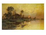 Autumn Evening - Somme Marshes; Soir D'Automne - Marais De La Somme