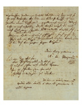 Autograph Letter Signed by Wolfgang Amadeus Mozart (1756-1791) and Sent to His Wife Constanze …