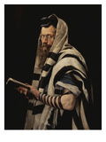 Rabbi with Tefillin