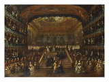 The Dinner and Ball in the Teatro San Benedetto Venice on 22 January 1782 in Honour of the Conti