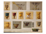 A Selection of Designs from the House of Faberge Including Bowls Goblets Cups and Tumblers
