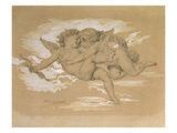 A Putto Trying to Steal Cupid&#39;s Arrows