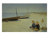 Boys on the Beach at Skagen