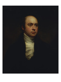 Portrait of English Sculptor  Sir Francis Chantrey (1781-1841)  in a Dark Jacket and White Cravat