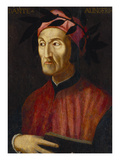 Portrait of Dante  Small - Half Length  Holding a Book