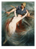 A Fisherman Engulfed by a Siren