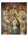 The Coronation of the Virgin with the Holy Trinity