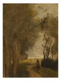 Road at Lisiere De Bois; Chemin En Lisiere De Bois