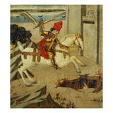 Marcus Curtius; End Panel of a Cassone