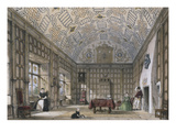 An English Mansion Interior  from 'The Mansions of England in the Olden Time'