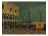 Venice  St Mark's Square; Venise  La Place St Marc