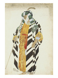Costume Design for a Dancer in Suite Arabe