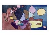 Dramatic Landscape; Dramatische Landschaft Giclée par Paul Klee