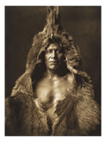 Bear's Belly-Arikara 1908 Giclée par Edward S. Curtis