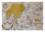 Indiae  Orientalis  Insularumque Adiacientivm Typvs from 'Theatris Orbis Terrarum'