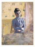 A Seated Woman in Blue; Femme En Bleu Assise