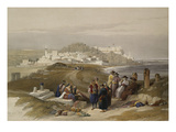 Jaffa  Ancient Joppa from 'The Holy Land  Syria  Idumea  Arabia  Egypt and Nubia'