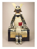 A Composite Japanese Armour Suit with a Saotome Helmet