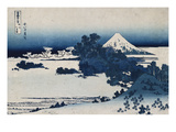Shichirigahama in Suruga Province&#39;- from the Series &#39;The Thirty Six Views of Mount Fuji&#39;