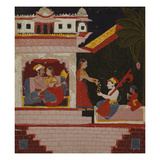 Pancham Ragini - a Handmaiden of an Enamoured Couple Rewards a Musician