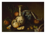 Still Life with Vase  Fruit and Nuts