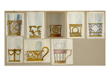 A Selection of Designs from the House of Faberge  Including Tumbler Holders and Tea-Glass Holders
