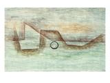 Flooding; Uberflutung Giclée par Paul Klee