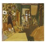 Miss Hessel in the Hallway; Mme Hessel Dans Le Vestibule