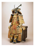 A Nimai Omodaka Odoshi Do Tosei-Gusoku Suit of Armour