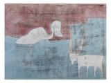 The Friendship; Tier Freundschaft Giclée par Paul Klee