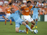 Houston June 26 - Brian Ching and Jeff Larentowicz