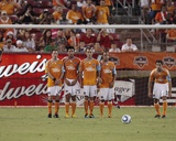 Houston May 29 - Brad Davis  Brian Ching  Danny Cruz  Kyle Nakazawa and Richard Mulrooney