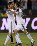 Carson  CA September 9 - David Beckham and Landon Donovan