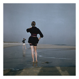 Vogue - December 1946 - Wading at Low Tide