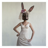 Vogue - February 1965 - Bunny Mask Reproduction d'art par Gianni Penati