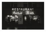 Vogue - October 1985 - Paris Restaurant in Berlin