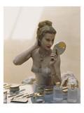 Vogue - April 1947 - Primping