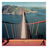 Vogue - February 1957 - Golden Gate Bridge