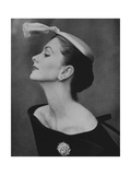 Vogue - August 1954 - Suzy Parker in Profile