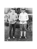Babe Ruth and Oswald Kirkby  The American Golfer June 5  1920